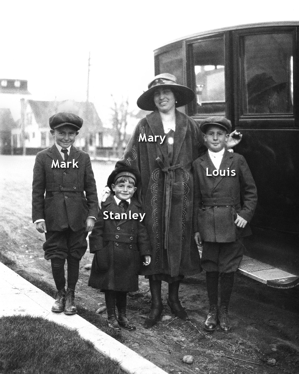 Mary, Mark, Louis and Stanley Yori
