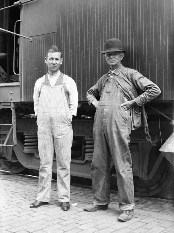 Railroad workers