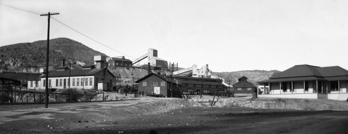 The Betty O'Neal mine South of Battle Mountain