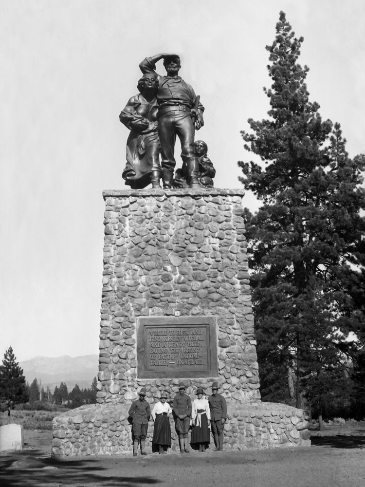 The Donner Party monument
